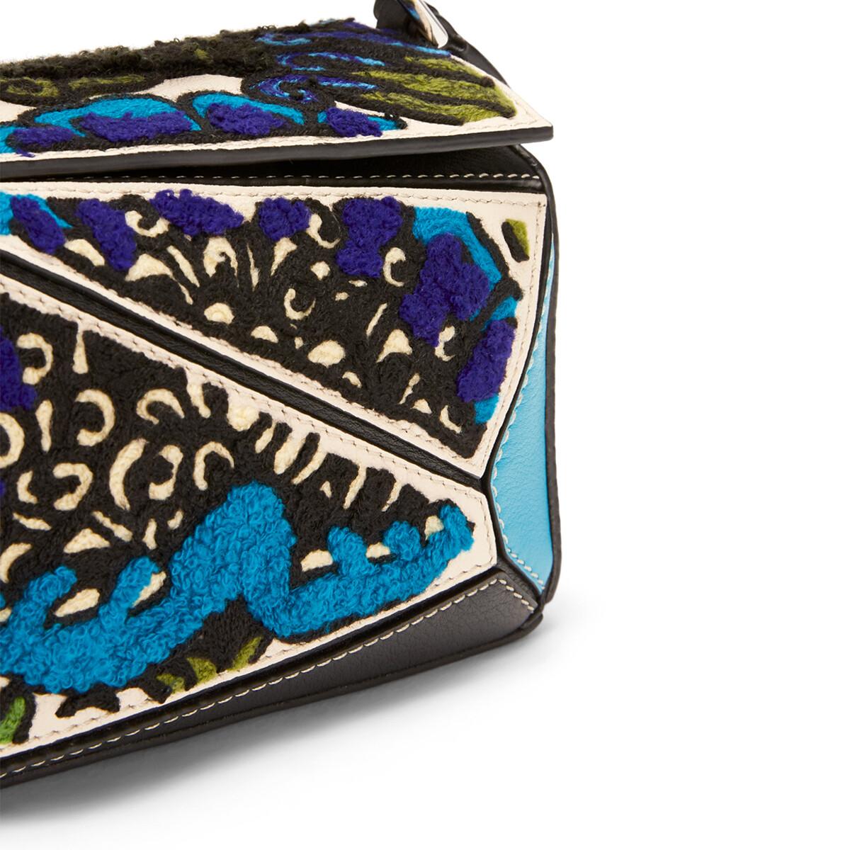 Puzzle Floral Mini Bag