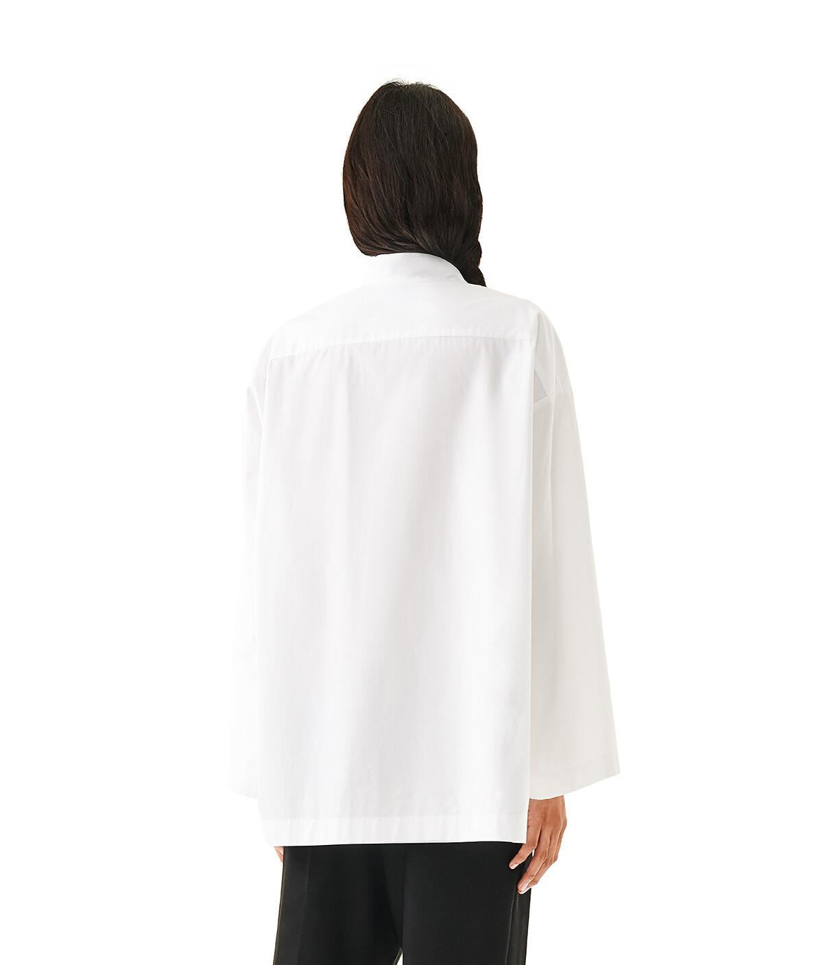 LOEWE Oversize Shirt White front