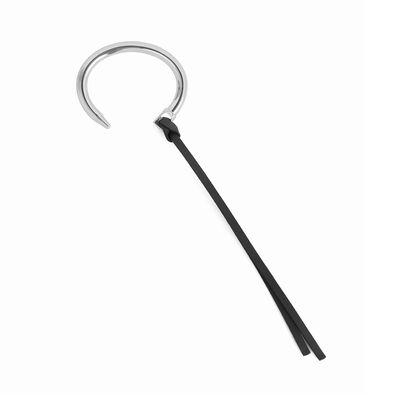 LOEWE Nail Bracelet Palladium/Black front