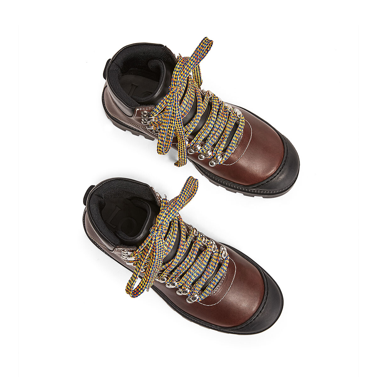 LOEWE Hiking Boot Dark Brown front