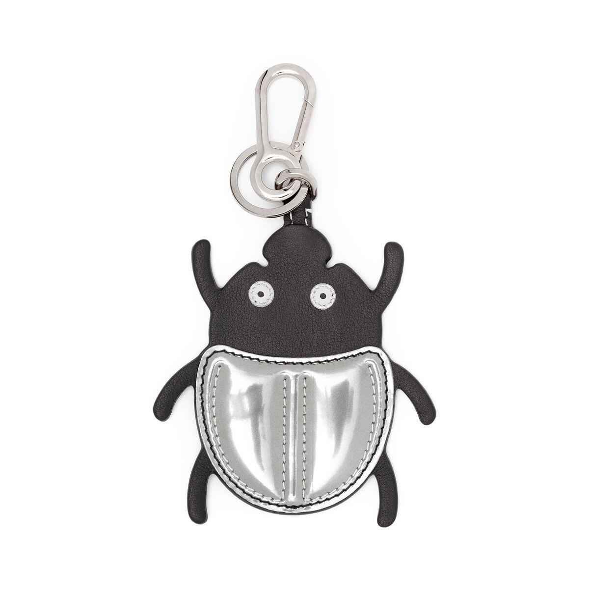 LOEWE Charm Escarabajo Negro/Plata all