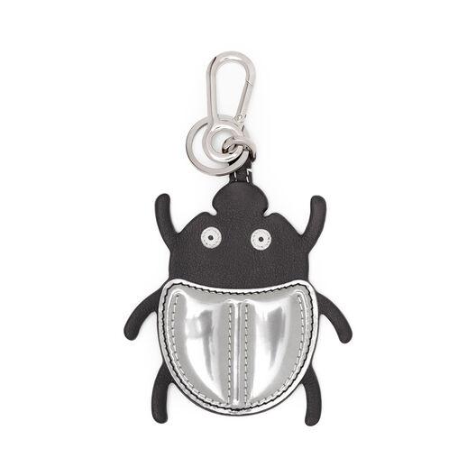 LOEWE Beetle Charm 黑色/银色 all