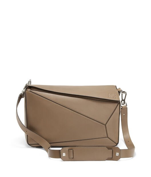 LOEWE Bolso Puzzle Xl Topo Oscuro front