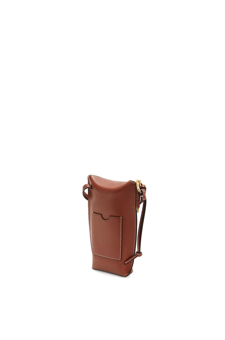 LOEWE Gate Pocket In Soft Calfskin Rust Color pdp_rd