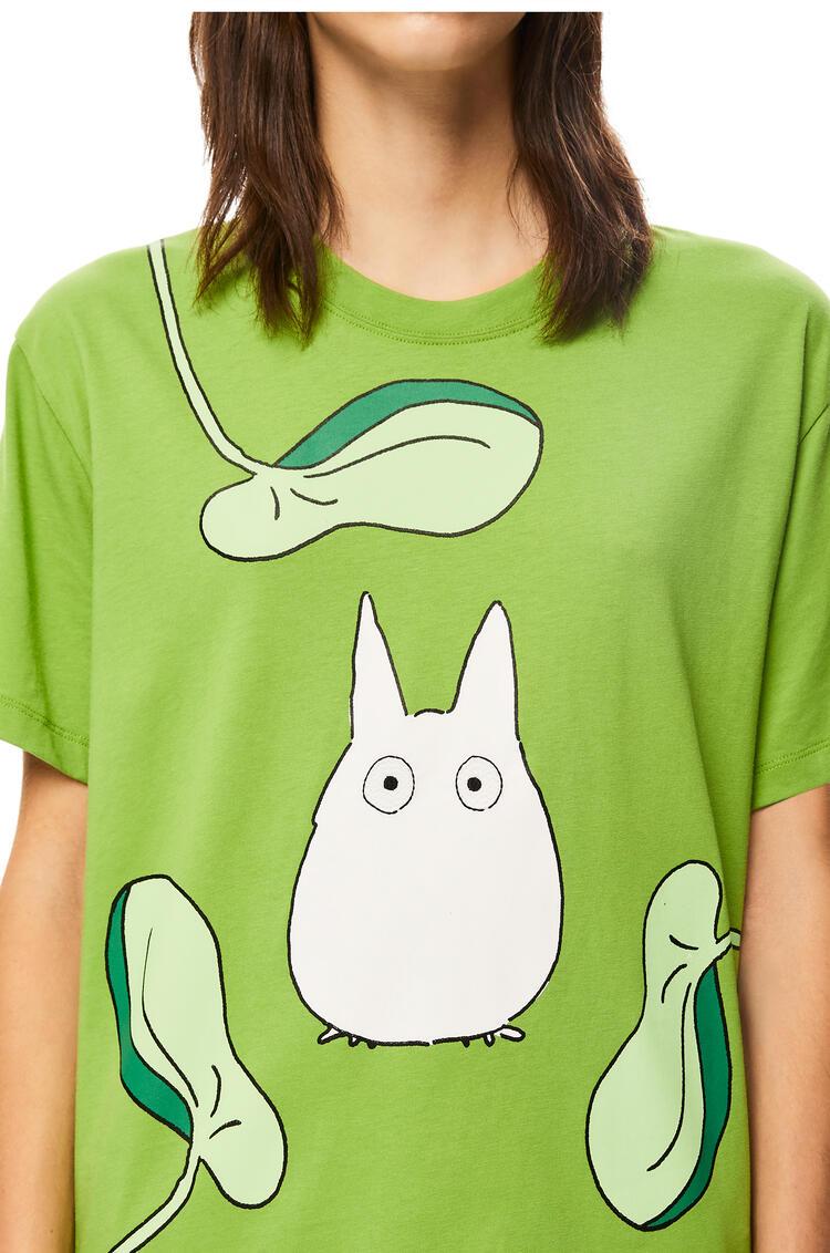 LOEWE 棉质龙猫T恤 Medium Green pdp_rd