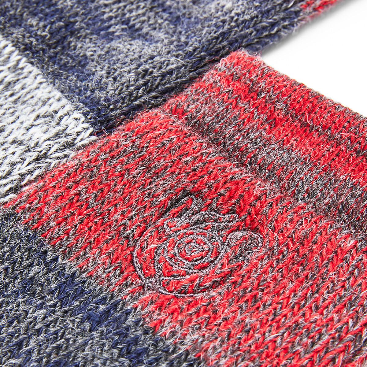 LOEWE Eln Socks Red/Grey front