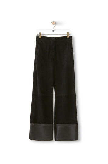 LOEWE Flare Trousers ブラック front