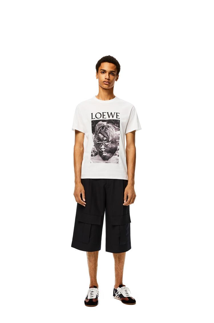 LOEWE Camiseta en algodón Ken Heyman Blanco pdp_rd