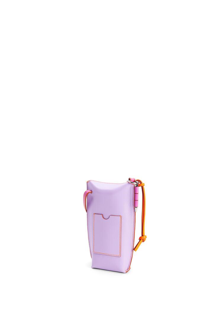 LOEWE Gate pocket in soft calfskin Grapefruit/Mauve pdp_rd