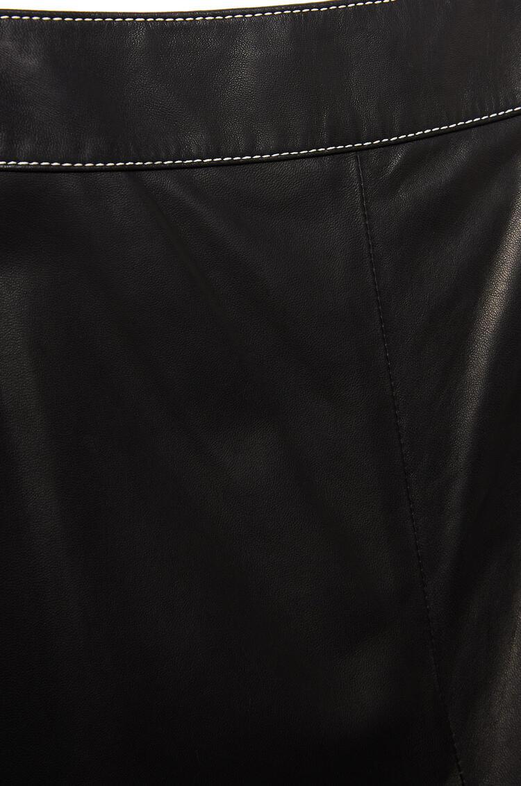 LOEWE Culotte trousers in nappa Black pdp_rd