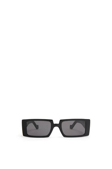 LOEWE ANAGRAM RECTANGULAR SUNGLASSES Black/Smoke pdp_rd