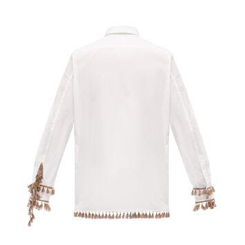 LOEWE Shirt Tassels Blanco front