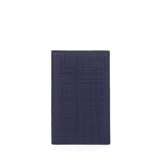 LOEWE Compact Wallet Navy Blue all