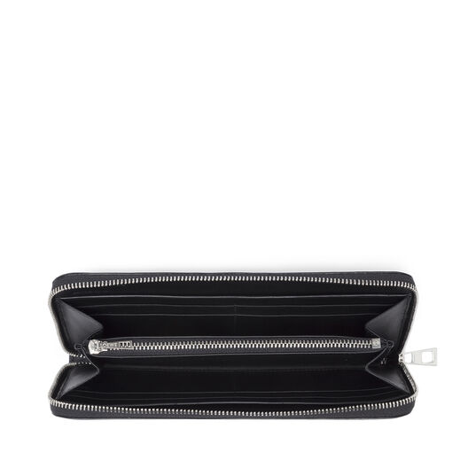 LOEWE Zip Around Wallet Stars Black/Silver all