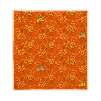 LOEWE 50X50 Paula Print Bandana Orange front