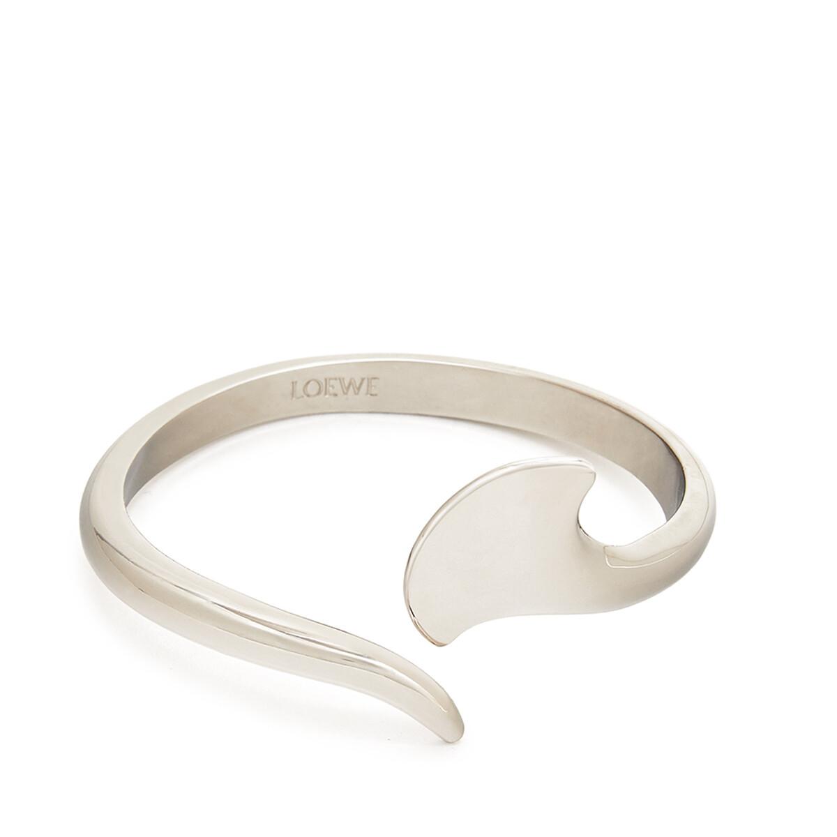 LOEWE Edge Bracelet 金属灰 front