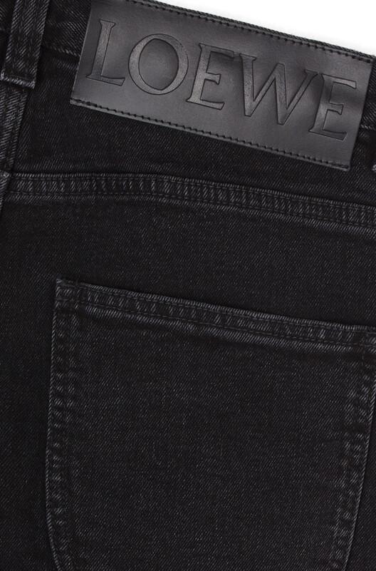 LOEWE 5 Pocket Jeans 黑色 front