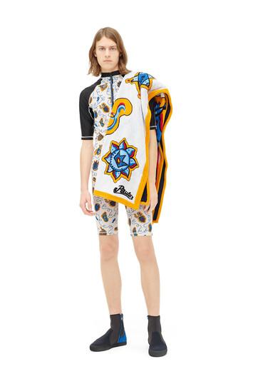 LOEWE Paula Print Wetsuit White/Multicolor front