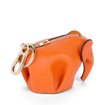 LOEWE Elephant Charm Orange front