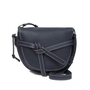 LOEWE Gate Bag Midnight Blue front