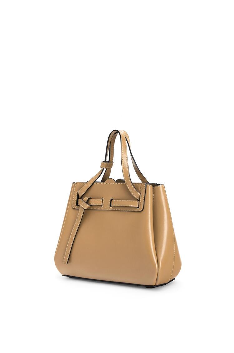LOEWE Mini Lazo bag in box calfskin Dune pdp_rd