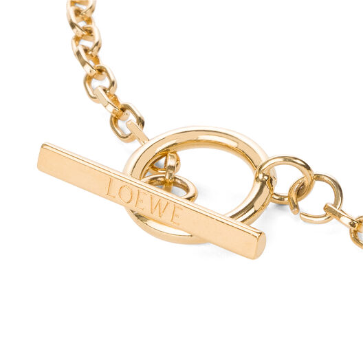 LOEWE Poppy Necklace Gold all
