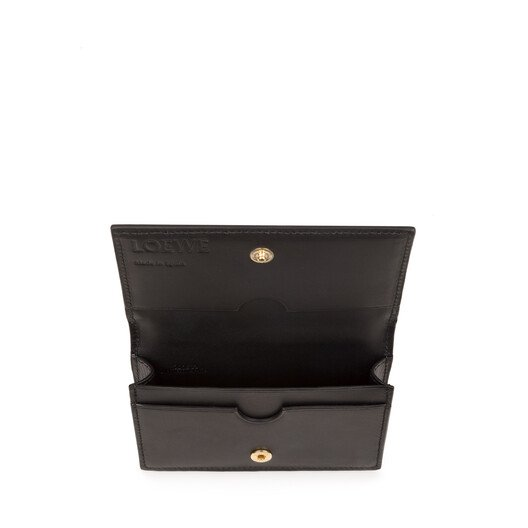 LOEWE Repeat Business Cardholder Stone Blue front