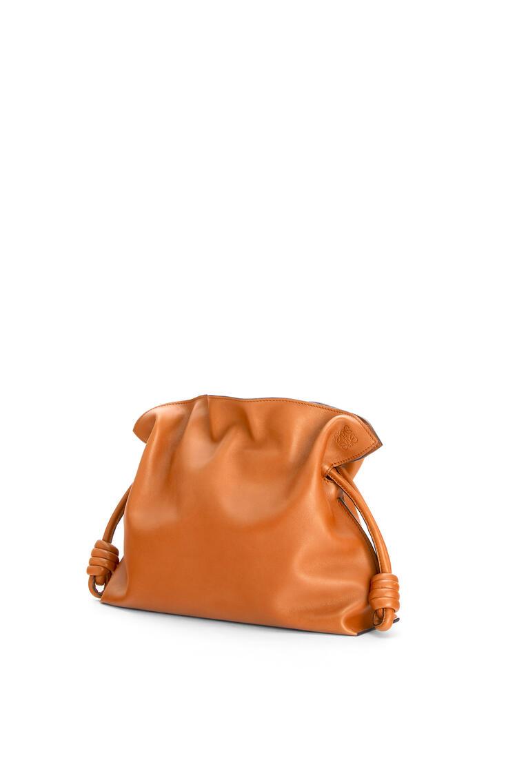 LOEWE Flamenco clutch in nappa calfskin Warm Desert pdp_rd