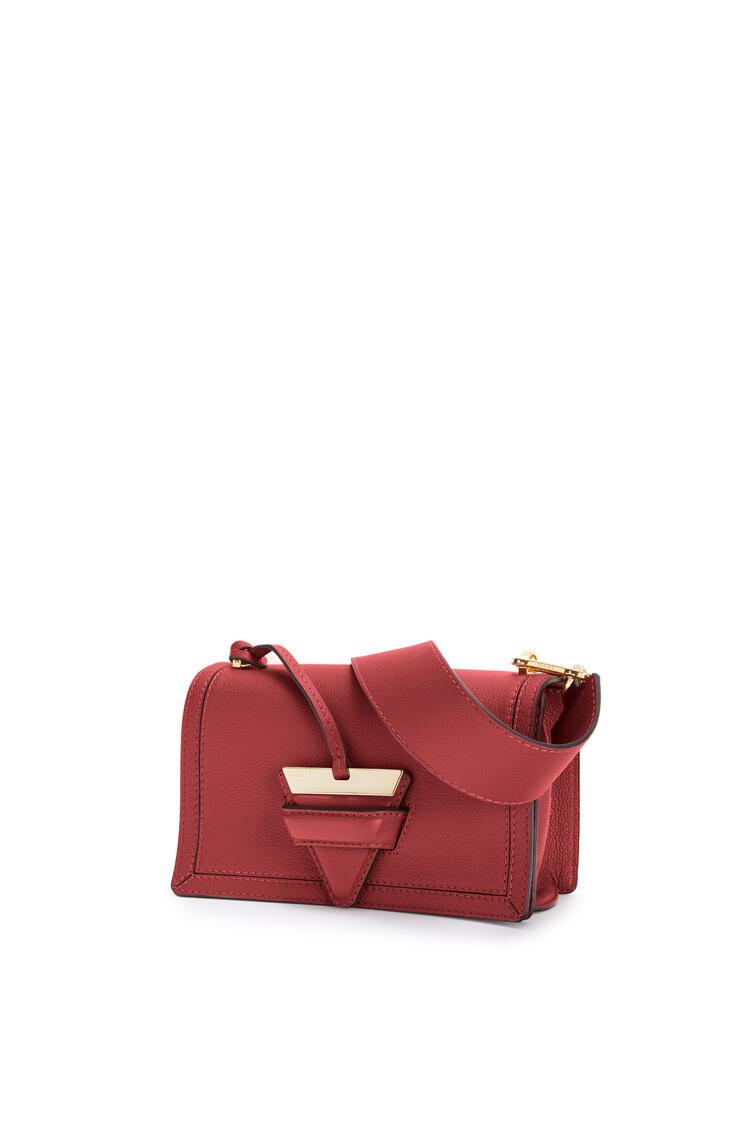 LOEWE Barcelona bag in soft grained calfskin Deep Red pdp_rd