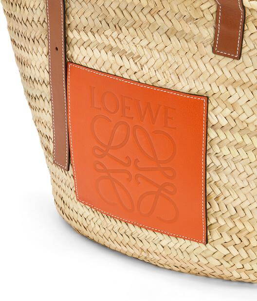 LOEWE Basket Large Natural/Orange front