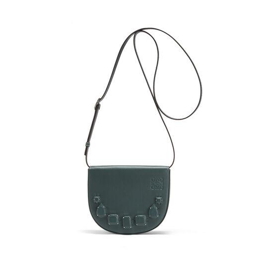 LOEWE Heel Mini Bag Jeweled Cypress front