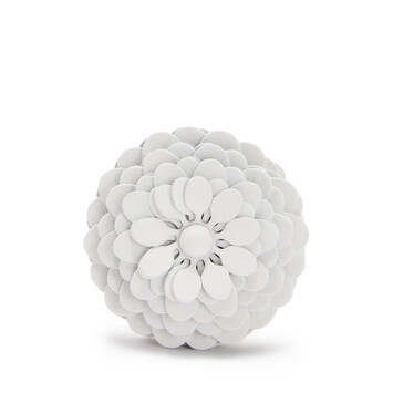 LOEWE Stud Flower Soft White front