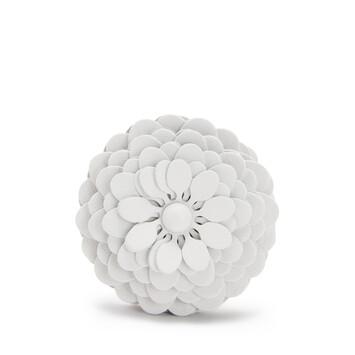 LOEWE Stud Flower 白色 front
