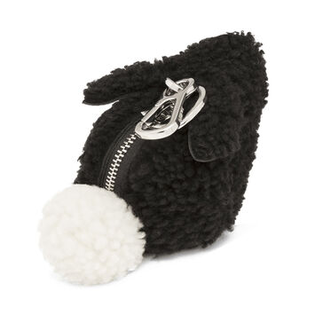 LOEWE Bunny Charm Black front