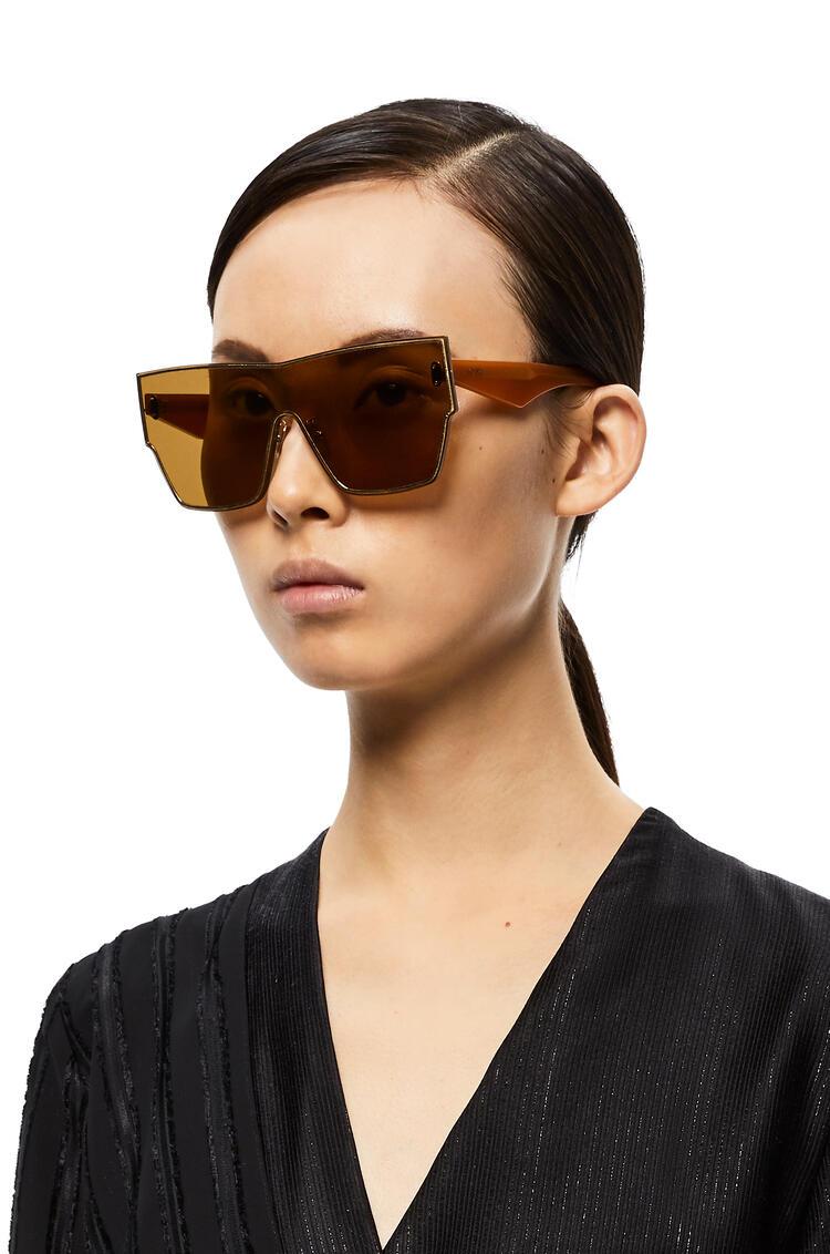 LOEWE Gafas De Sol Ss20 Mask Grande Avellana pdp_rd