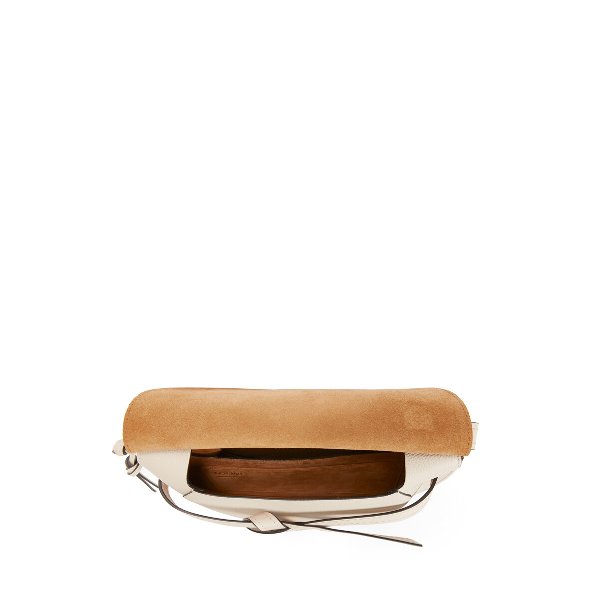 LOEWE Gate Small Bag Light Oat  front