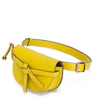 LOEWE Gate Bumbag Yellow front