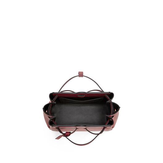 LOEWE Lazo Mini Bag Wine front
