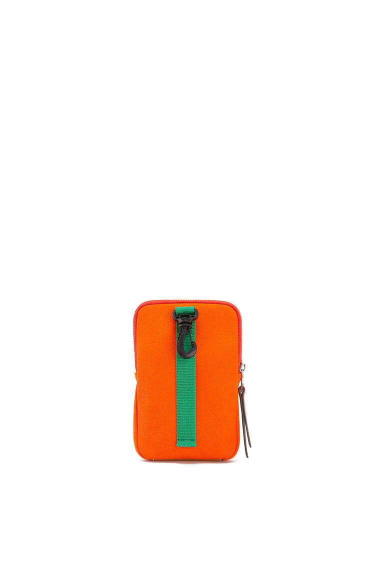 LOEWE Case in canvas Violet/Orange pdp_rd
