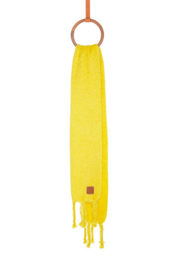 LOEWE 45X230 Scarf Plain Yellow front