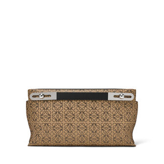 LOEWE Missy Repeat Small Bag Mocca/Black front
