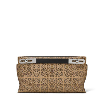 LOEWE Bolso Missy Repeat Pequeño Mocca/Negro front