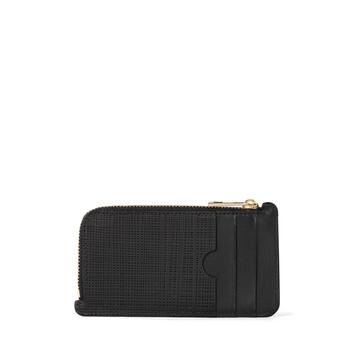 LOEWE Coin/Card Holder Black front