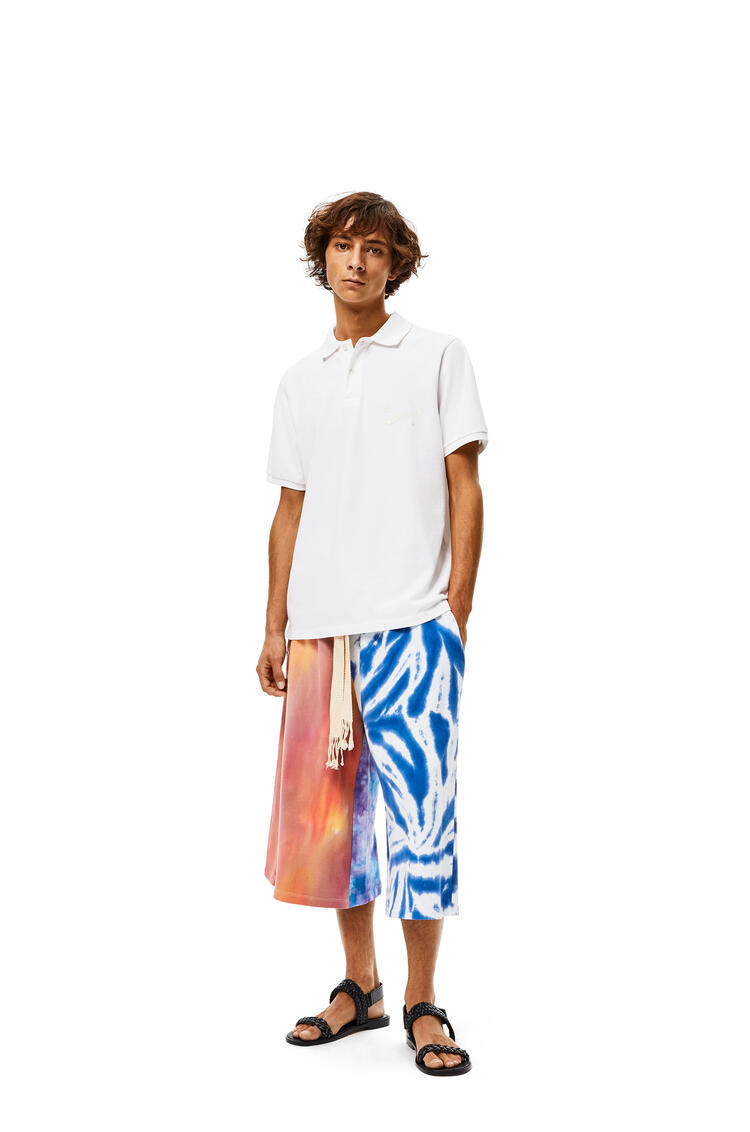 LOEWE Shorts In Tie Dye Cotton 多色拼接 pdp_rd