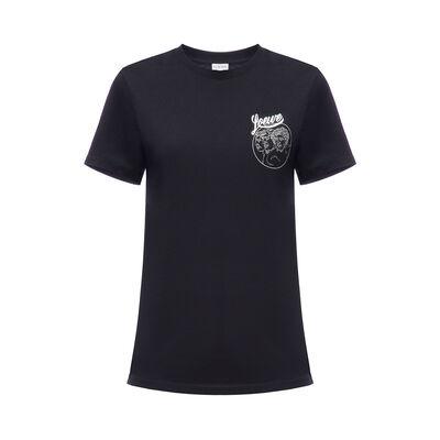 LOEWE T-Shirt Loewe Bird Black front