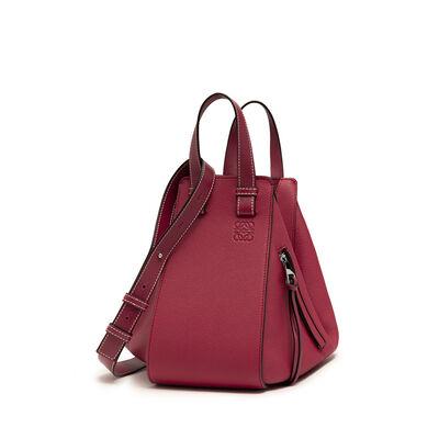 LOEWE Hammock Small Bag Raspberry front