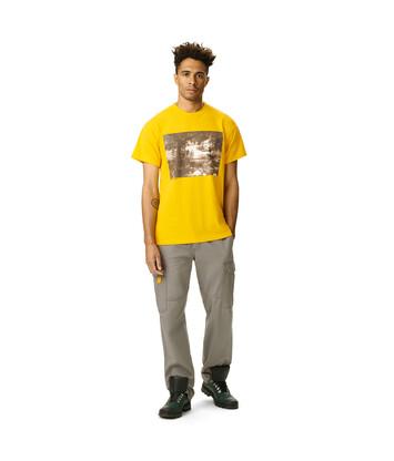 LOEWE Eln Photo Print T-Shirt イエロー front