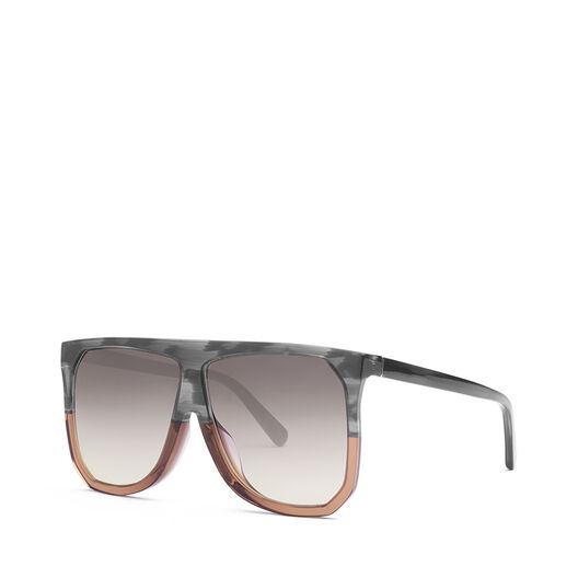 LOEWE Filipa Sunglasses Grey/Brown/Gradient Yellow all