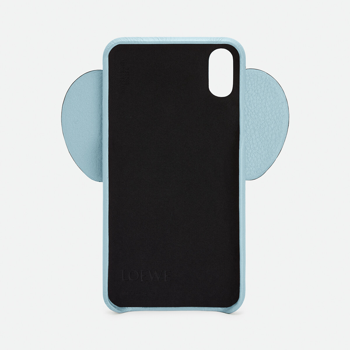 LOEWE Elephant Cover For Iphone Xs Max 淺藍 front