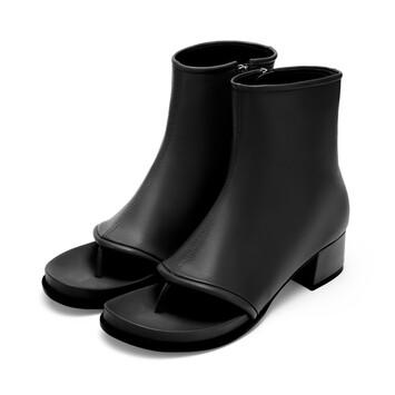 LOEWE Flip Flop Bootie 60 Negro front